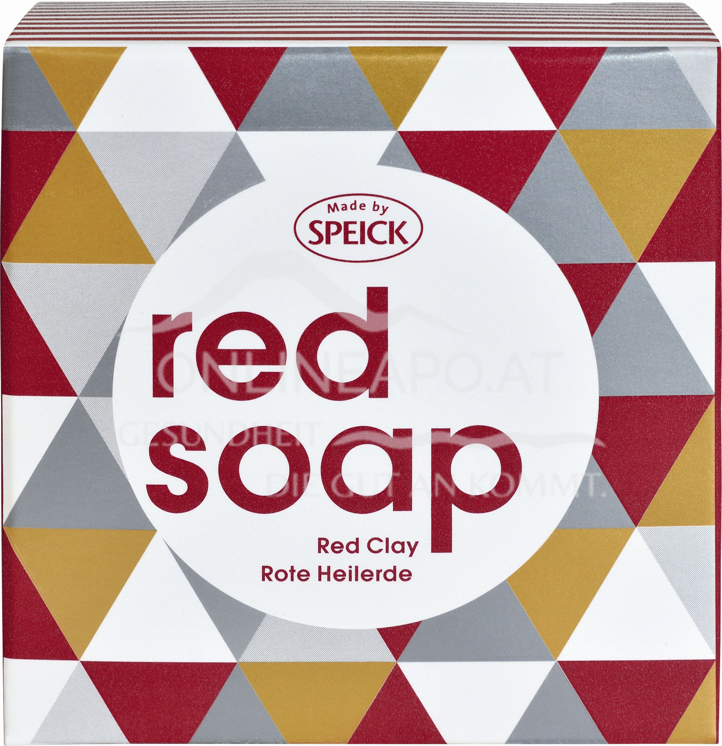Made by Speick Red Soap - Rote Heilerde