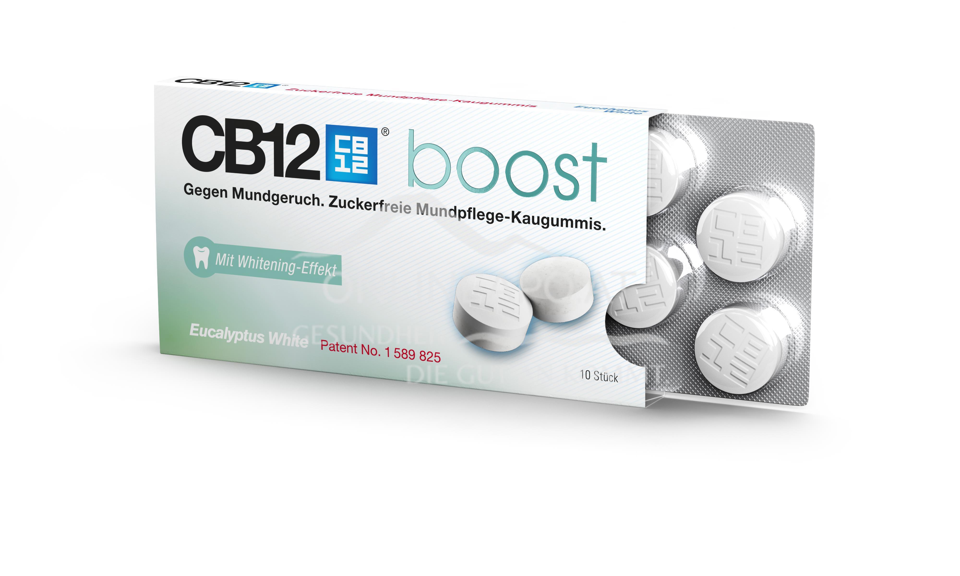 CB12 Boost Eukalyptus White