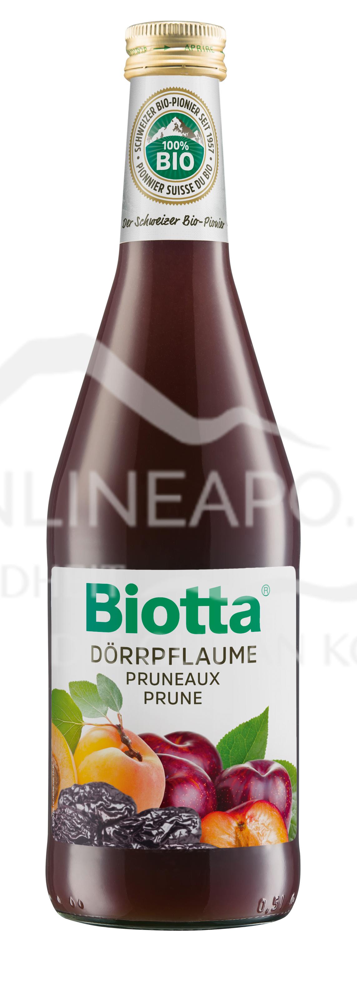Biotta® Bio Classic Dörrpflaume Saft