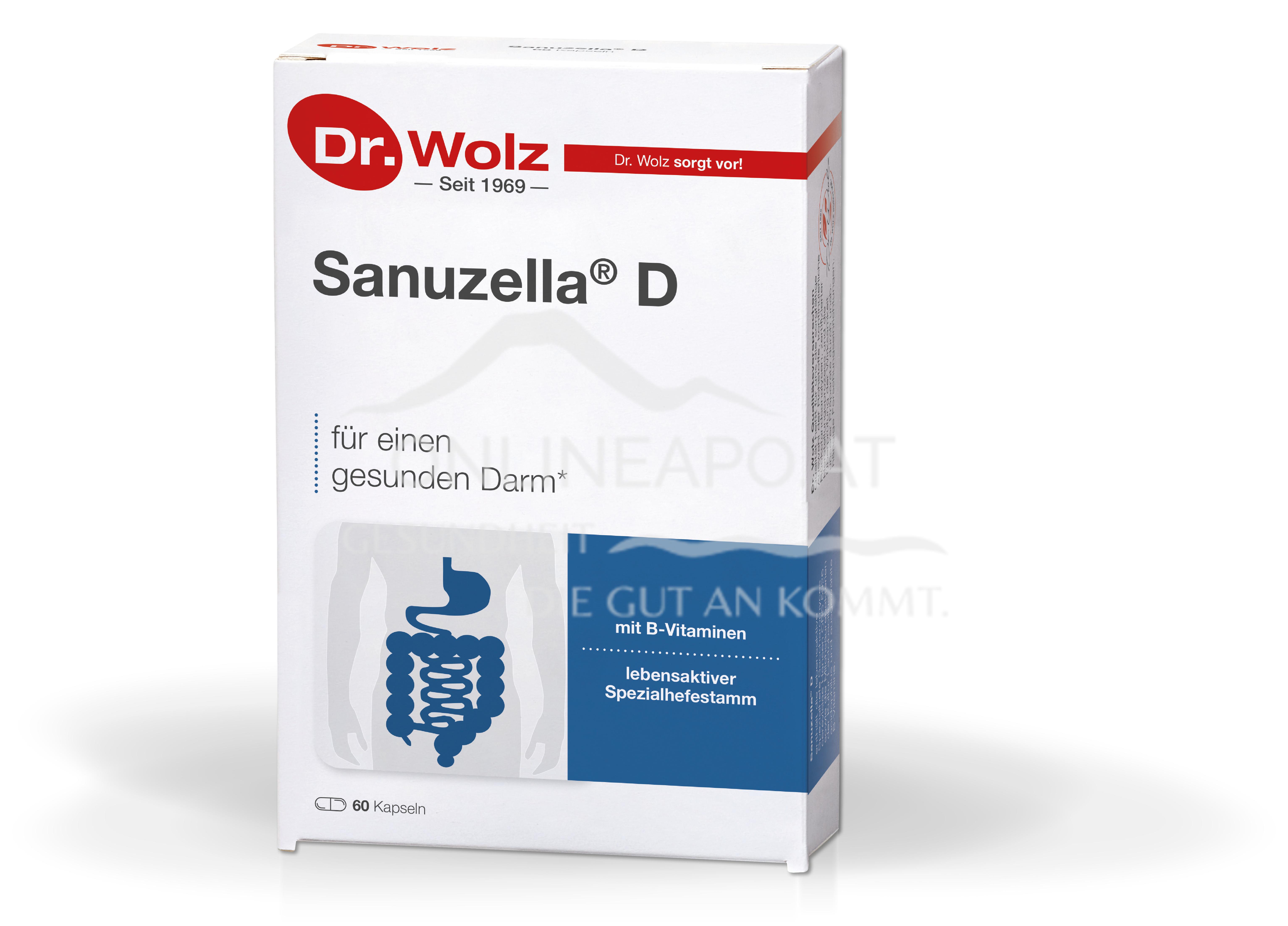 Dr. Wolz Sanuzella® D Kapseln