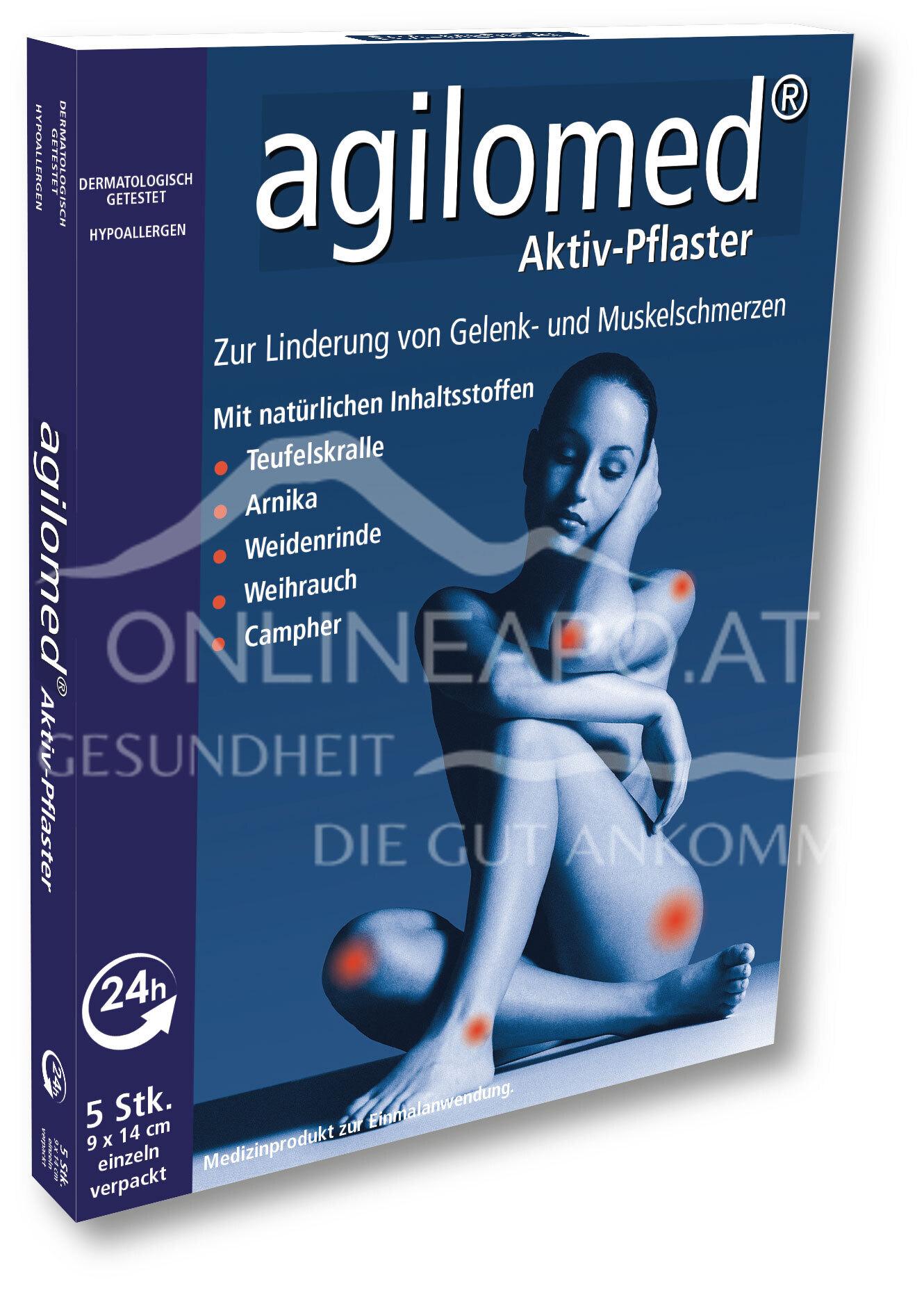 agilomed®Aktiv-Pflaster