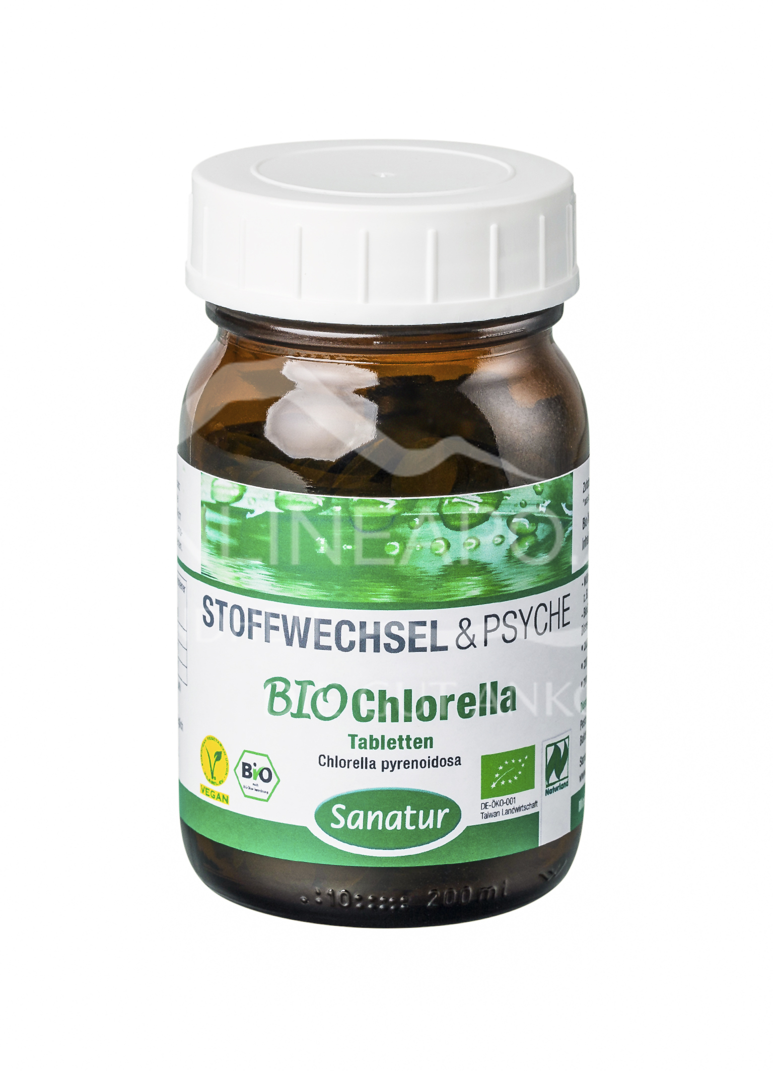 Sanatur Chlorella Tabletten BIO