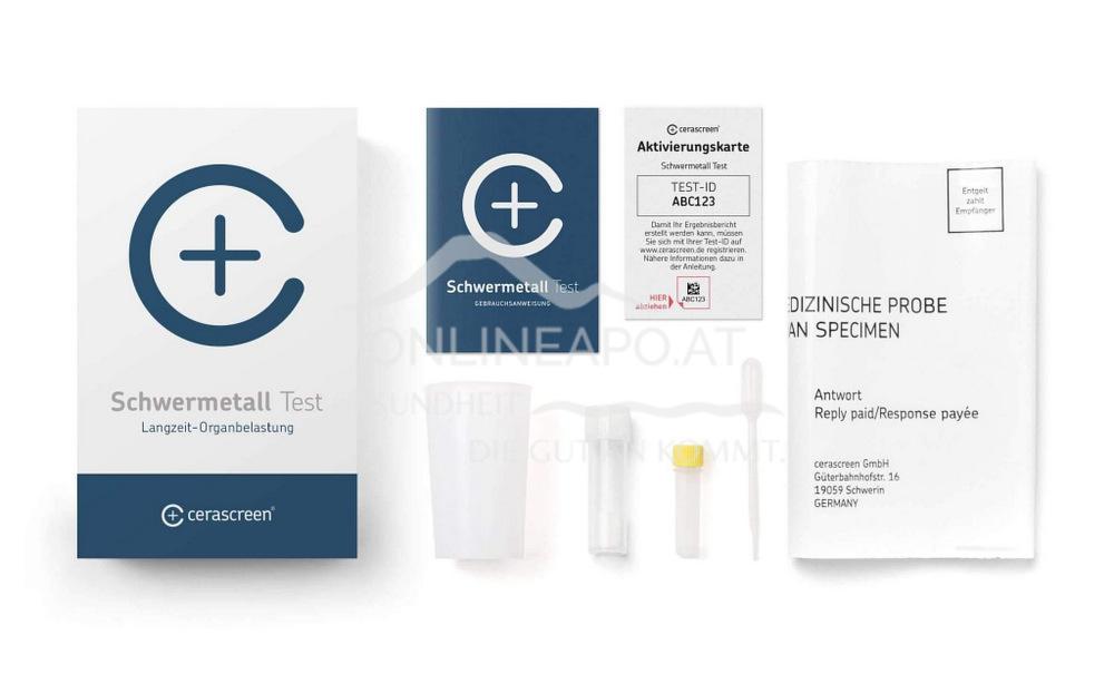 Cerascreen Schwermetall Test