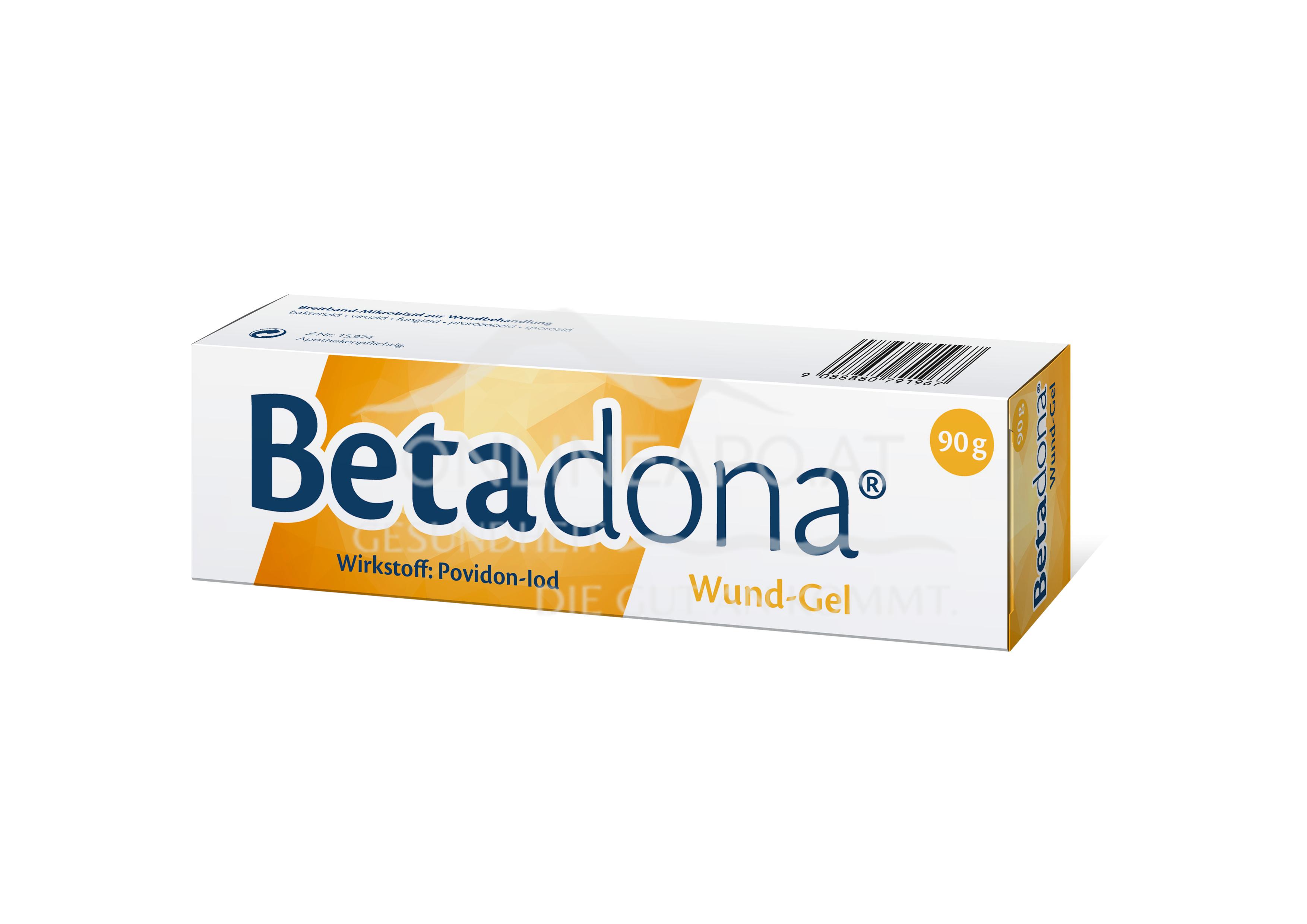 Betaisodona Wundgel Tube