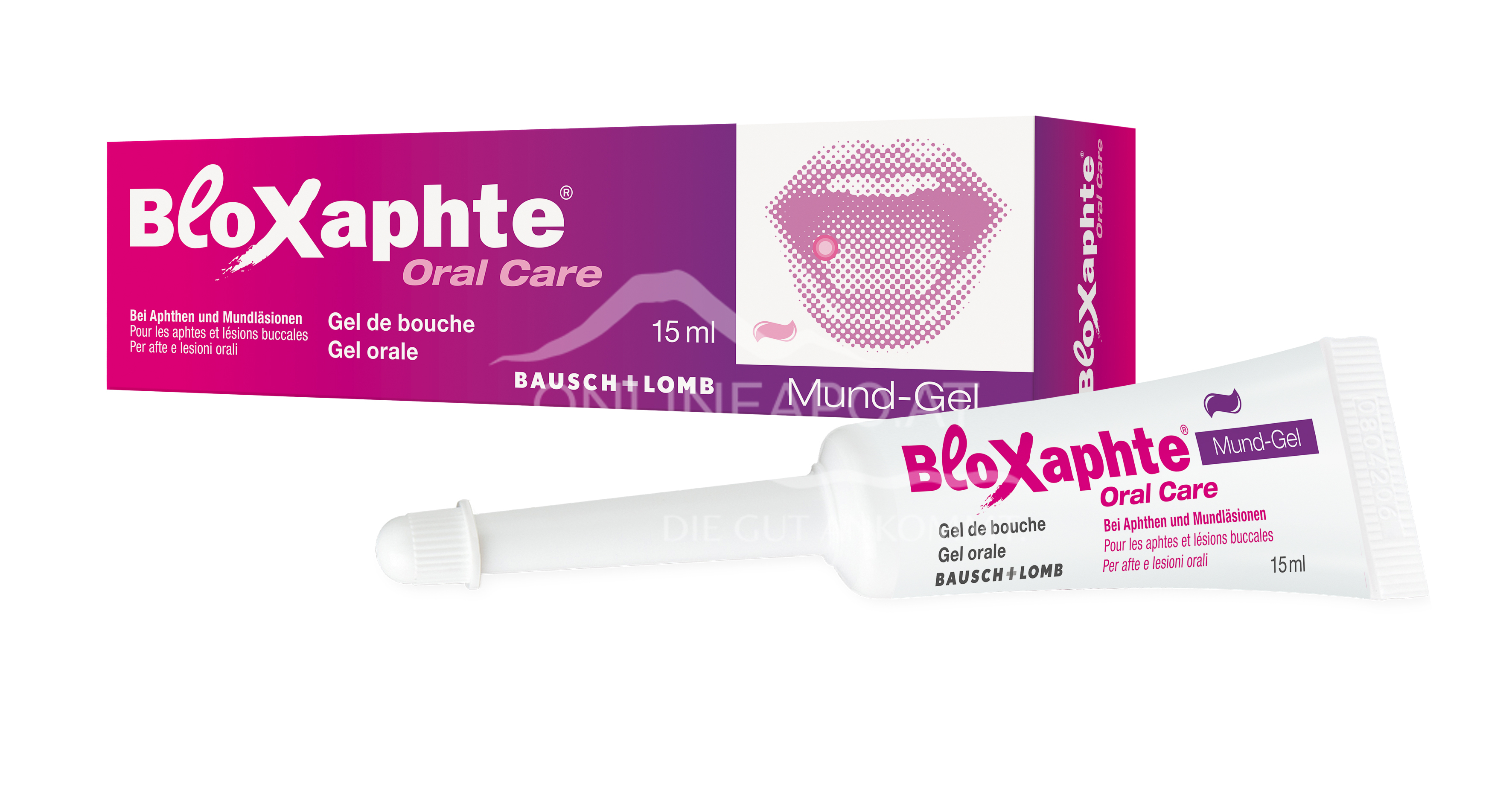 BloXaphte Oral Care Mund-Gel für Erwachsene