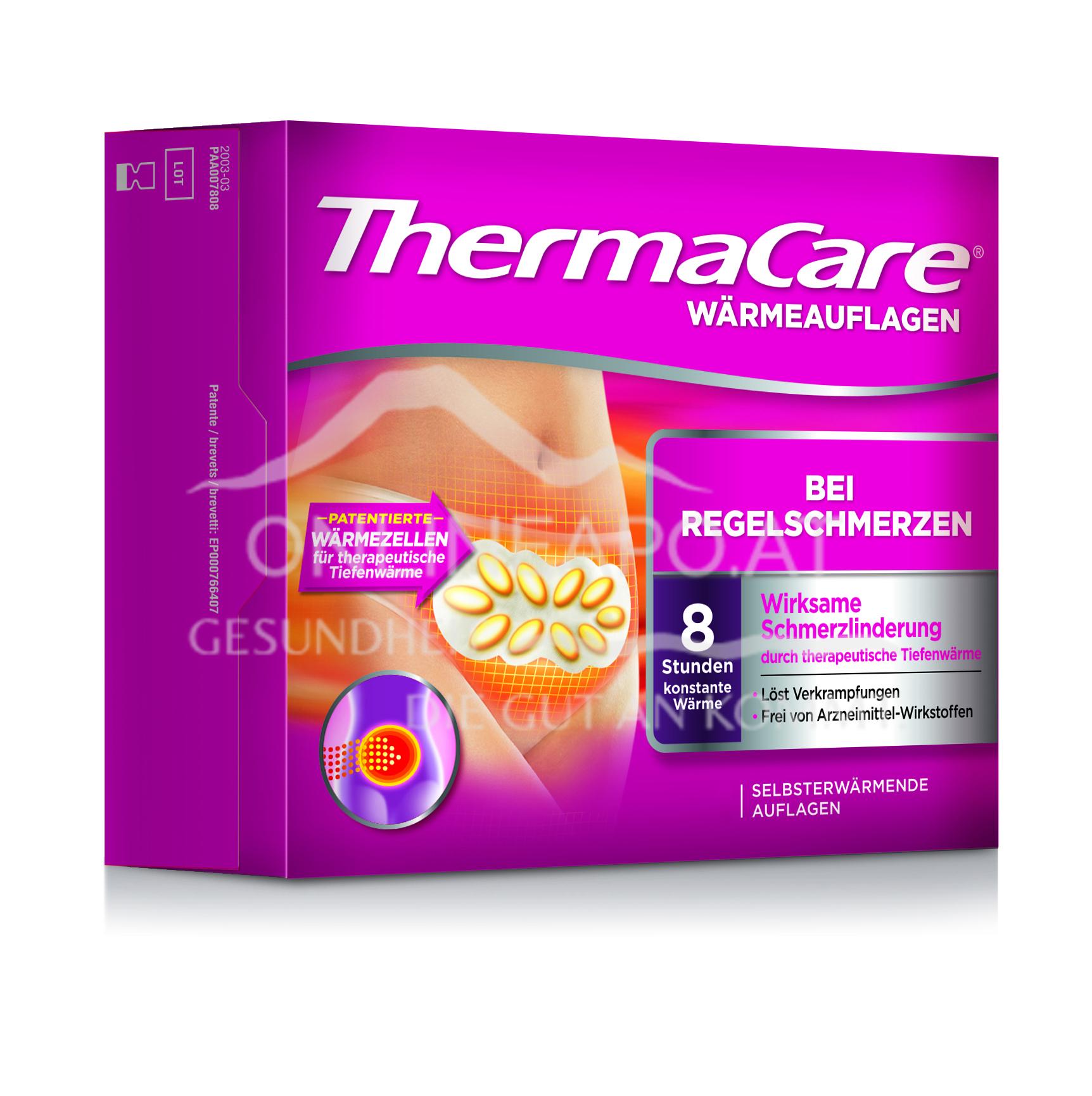 ThermaCare® Wärmeauflagen bei Regelschmerzen