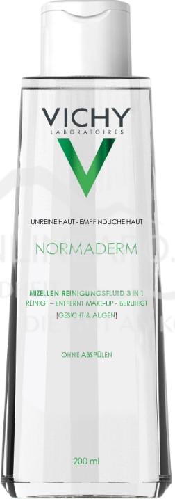 VICHY Normaderm Reinigungsfluid mit Mizellentechnologie 3in1