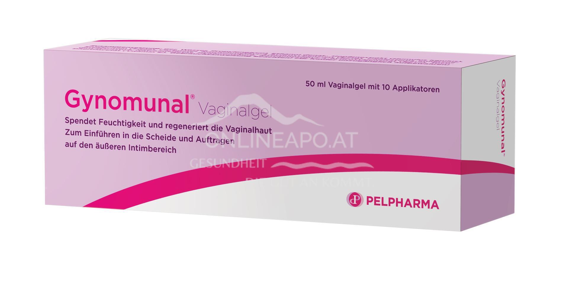 Gynomunal Vaginalgel + 10 Applikatoren