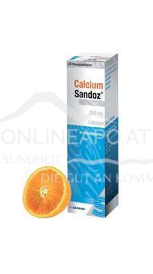 Calcium Sandoz Brausetabletten 500mg