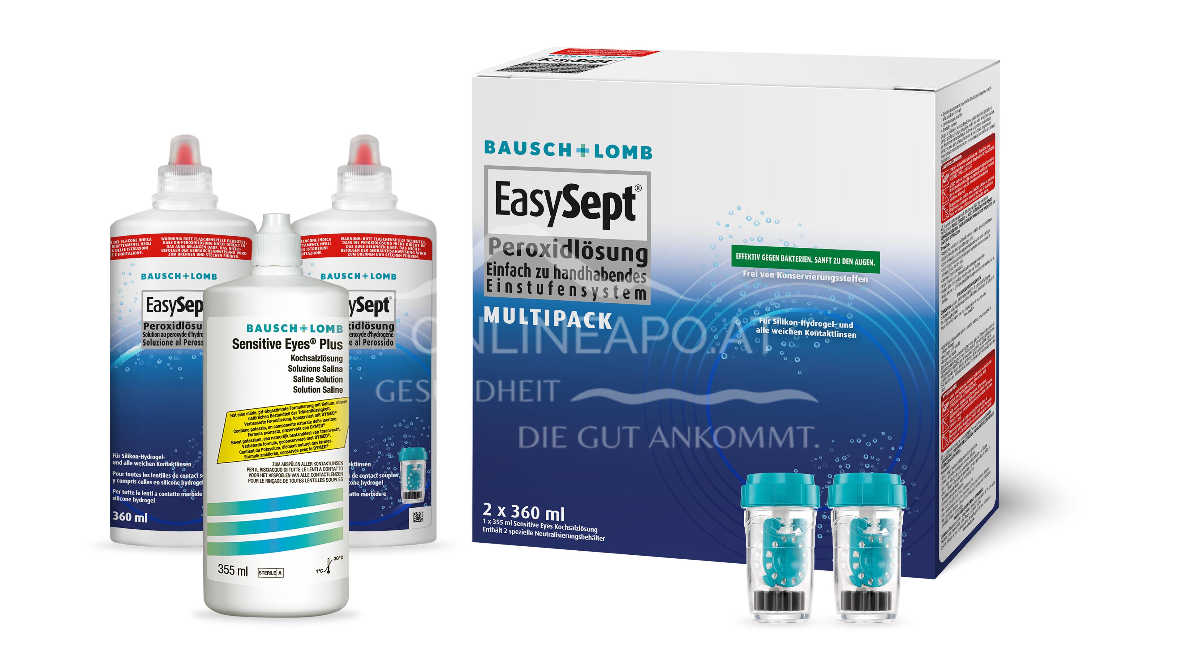 Easysept Peroxidlösung Multipack