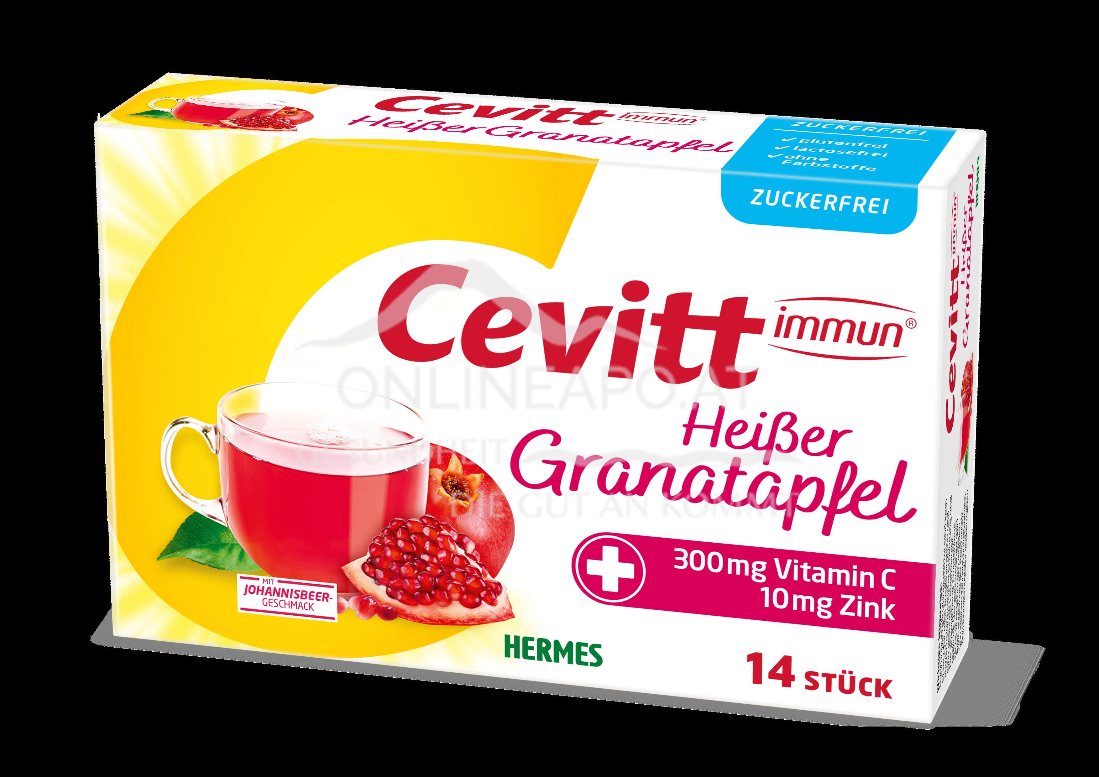 Cevitt immun® Heißer Granatapfel zuckerfrei
