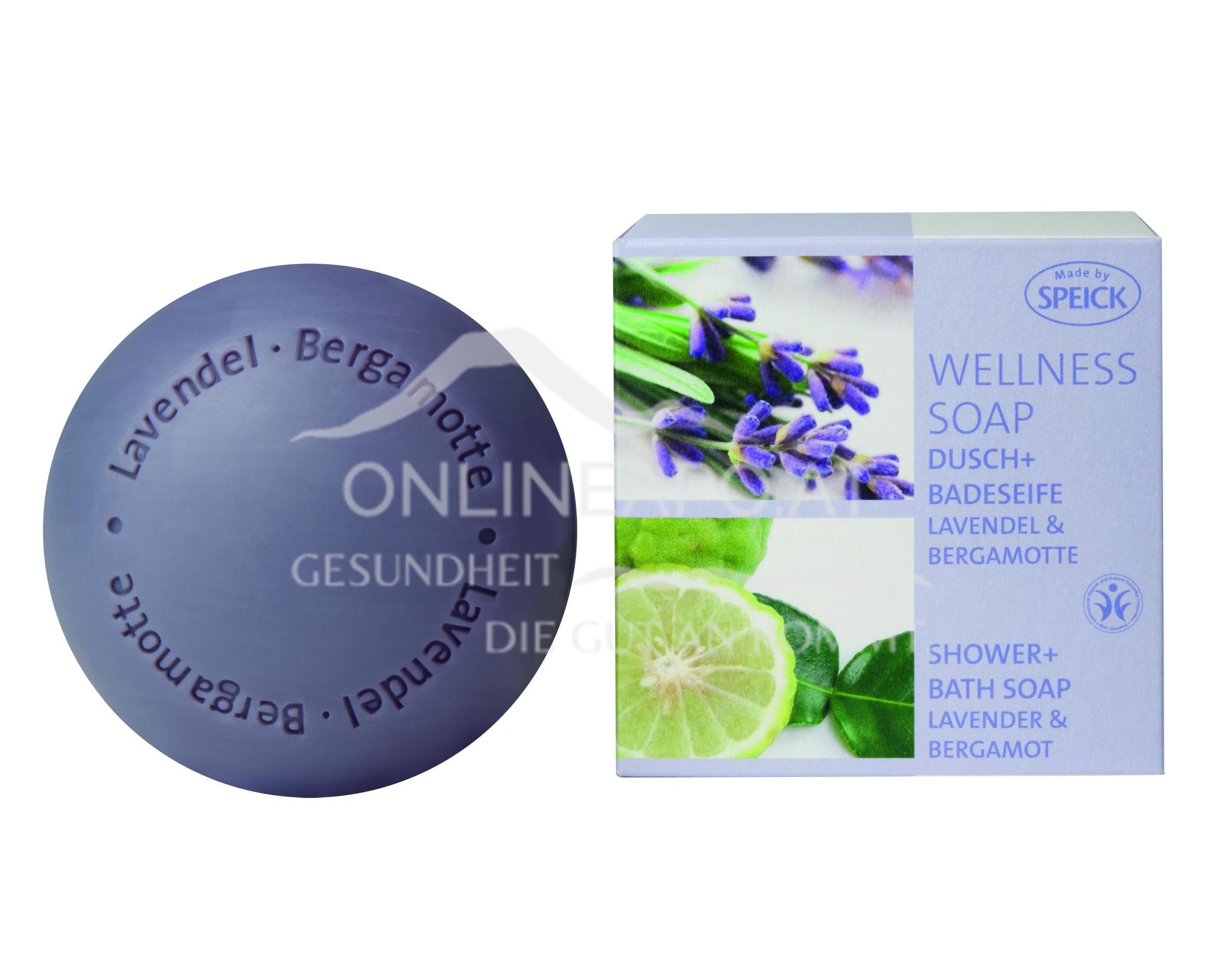 Made by Speick Wellness Soap Lavendel & Bergamotte