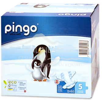 Bio Windeln Junior Jumbo 12-25kg Pinguin – Pingo Swiss