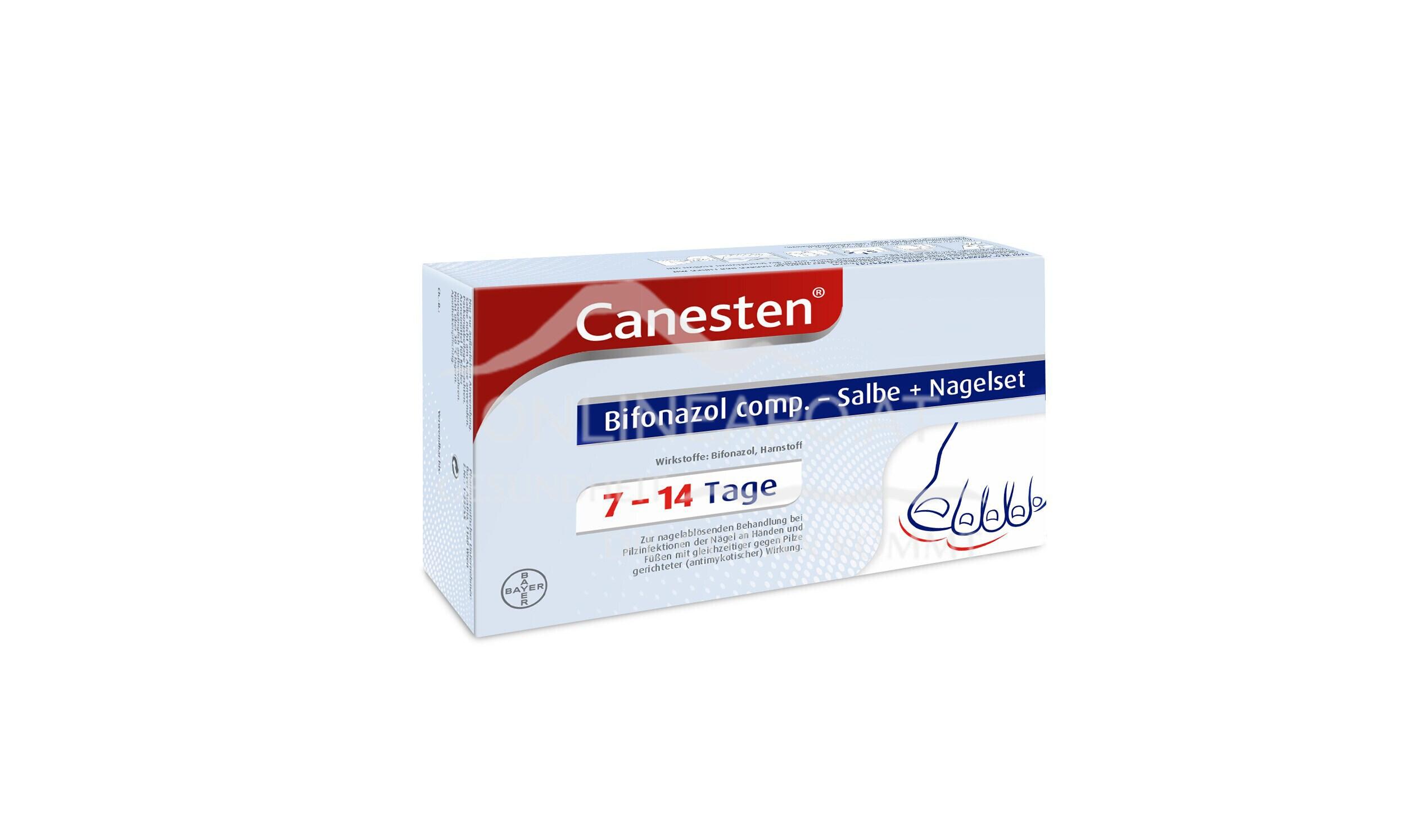 Canesten® Bifonazol comp. – Salbe + Nagelset