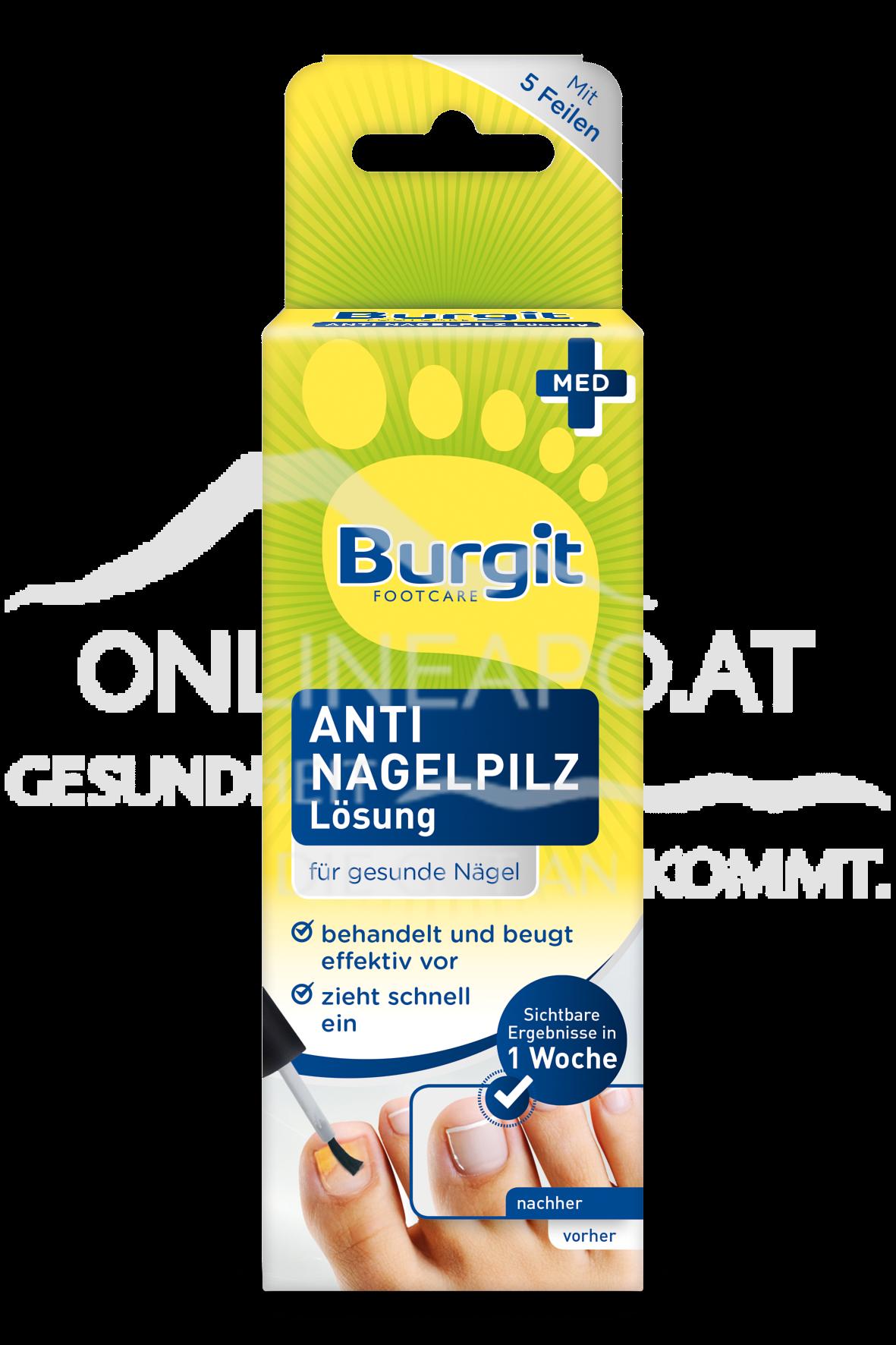 Burgit Anti Nagelpilz Lösung