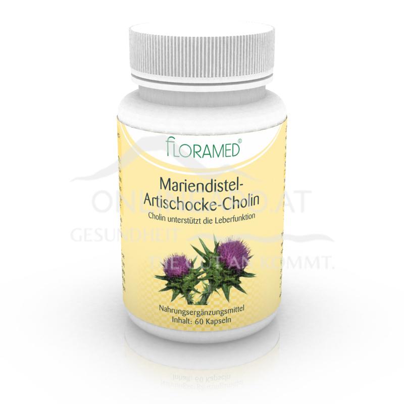 Floramed Mariendistel-Artischocke-Cholin