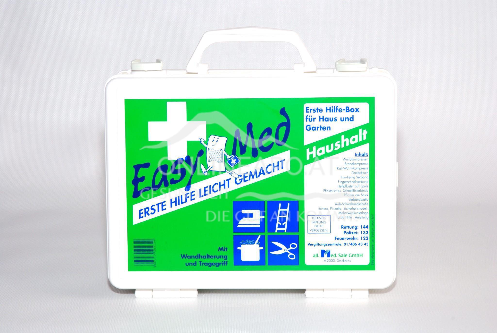EasyMedErste Hilfe Box Haushalt
