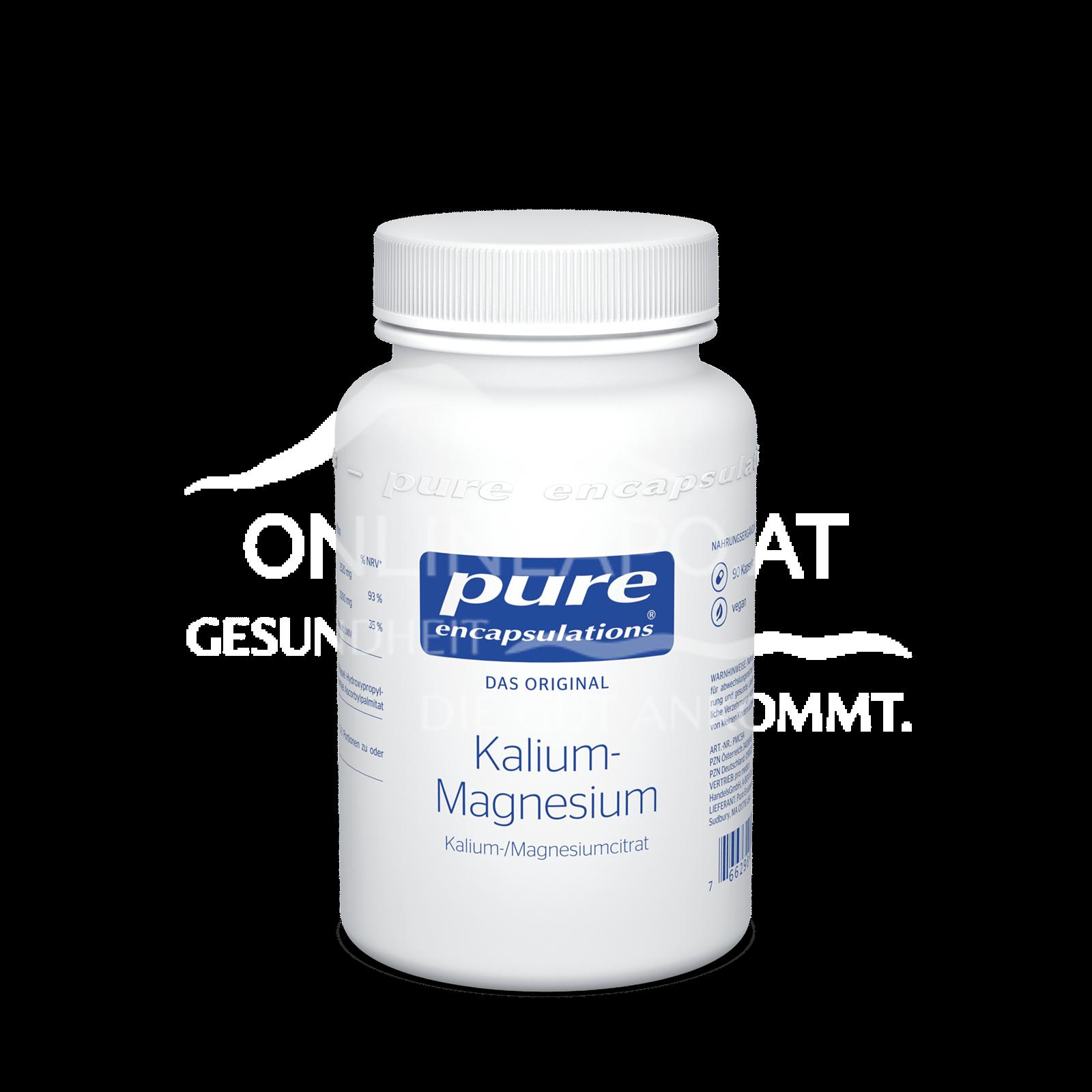pure encapsulations® Kalium- Magnesium