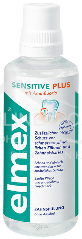 elmex® SENSITIVE PLUS Zahnspülung