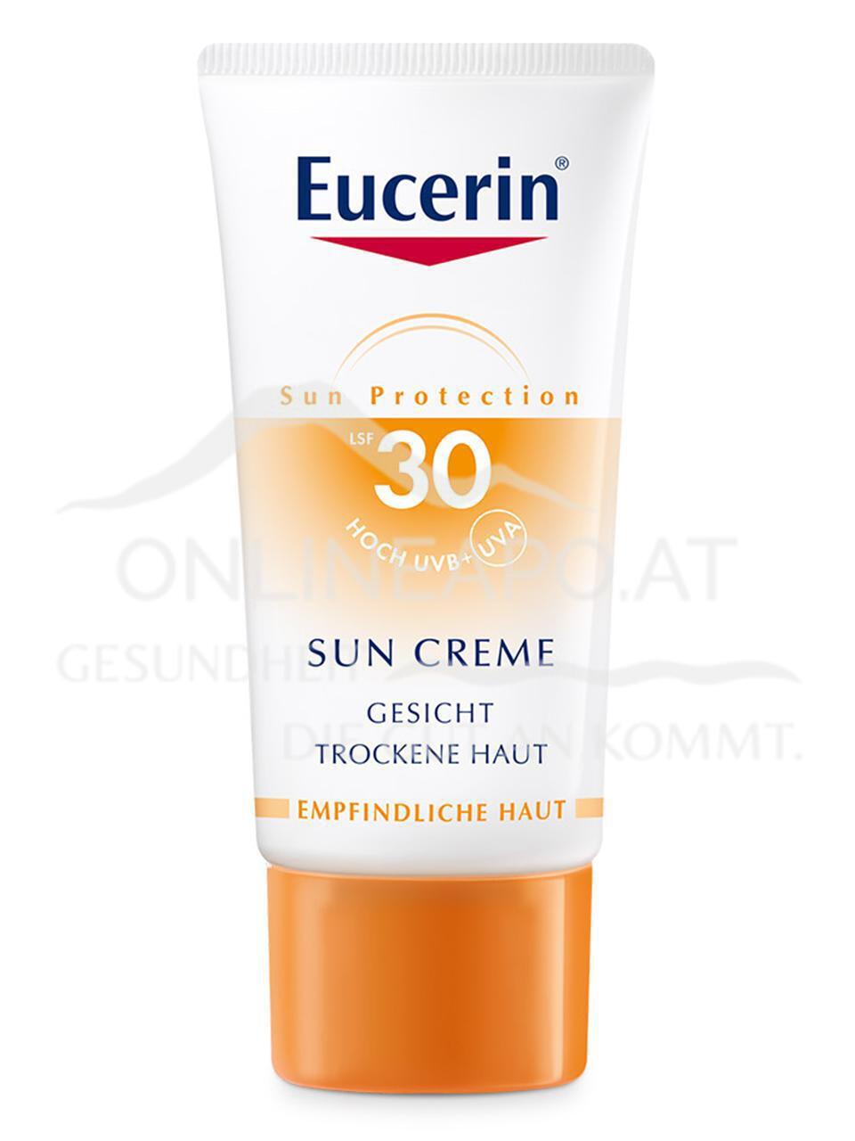 Eucerin SUN CREME LSF 30 für normale bis trockene Haut
