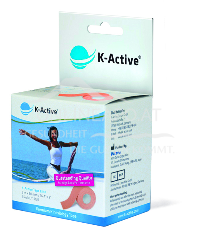 K-Active® ELITE Tape Beige 5m X 5cm