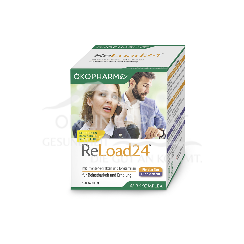 Ökopharm Reload 24® Kapseln