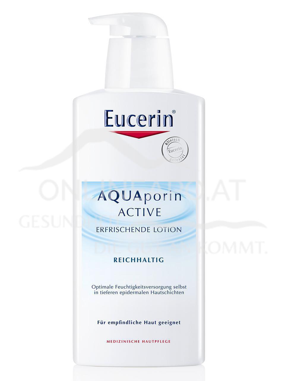 Eucerin AQUAporin ACTIVE ERFRISCHENDE LOTION REICHHALTIG