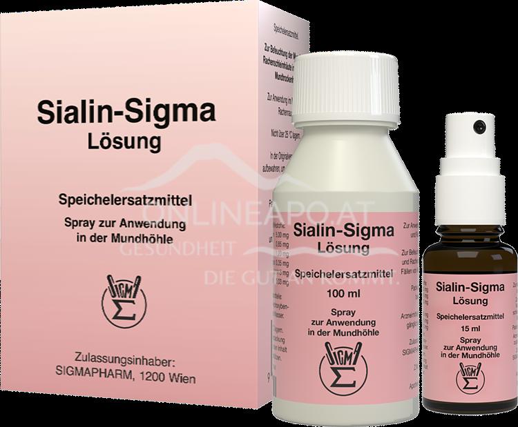 Sialin-Sigma Lösung
