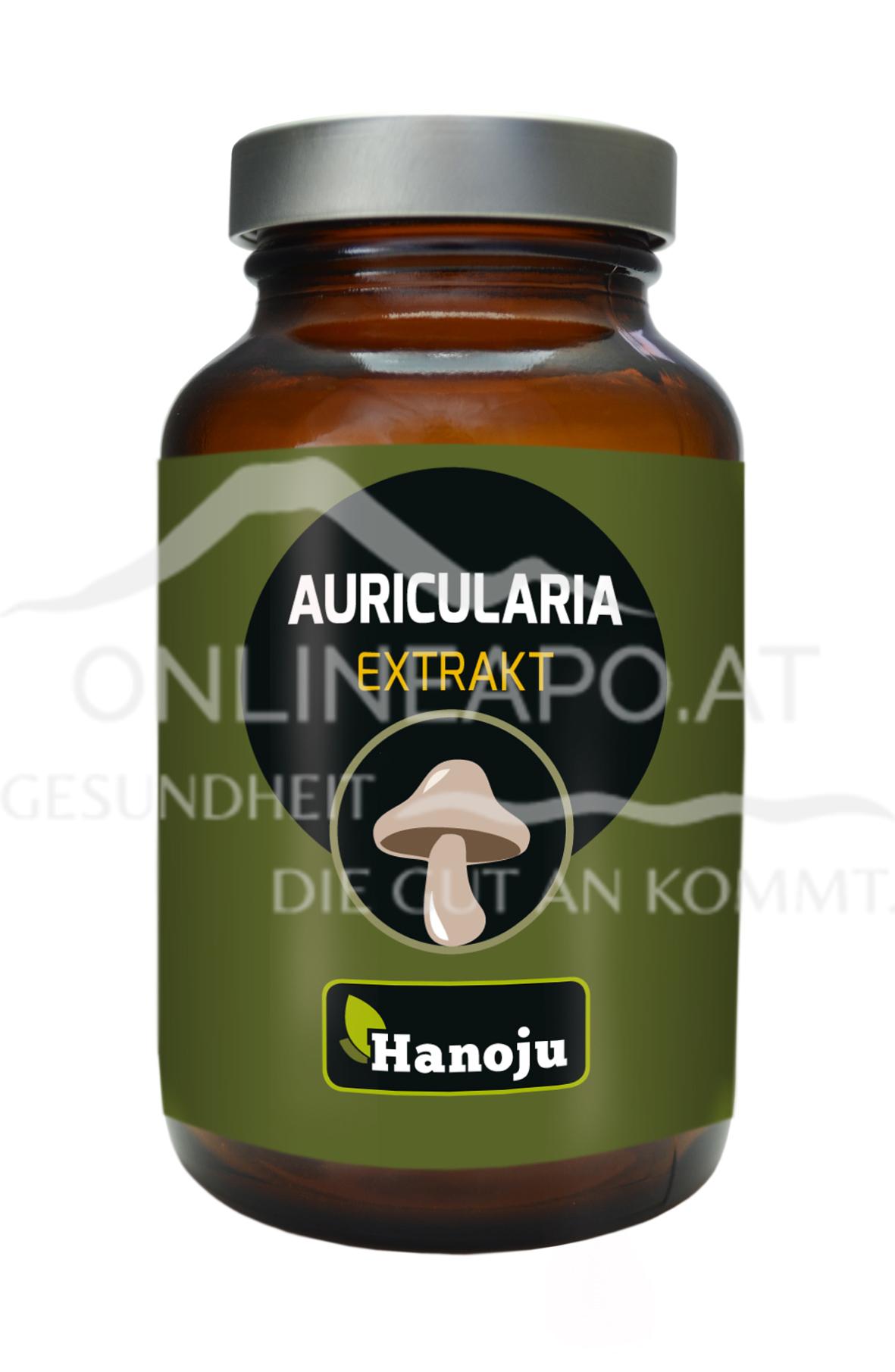 Hanoju Auricularia Pilz Extrakt 450 mg