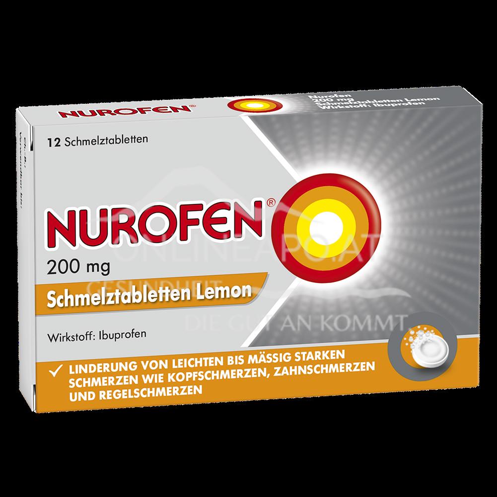 Nurofen® Schmelztabletten Lemon 200 mg