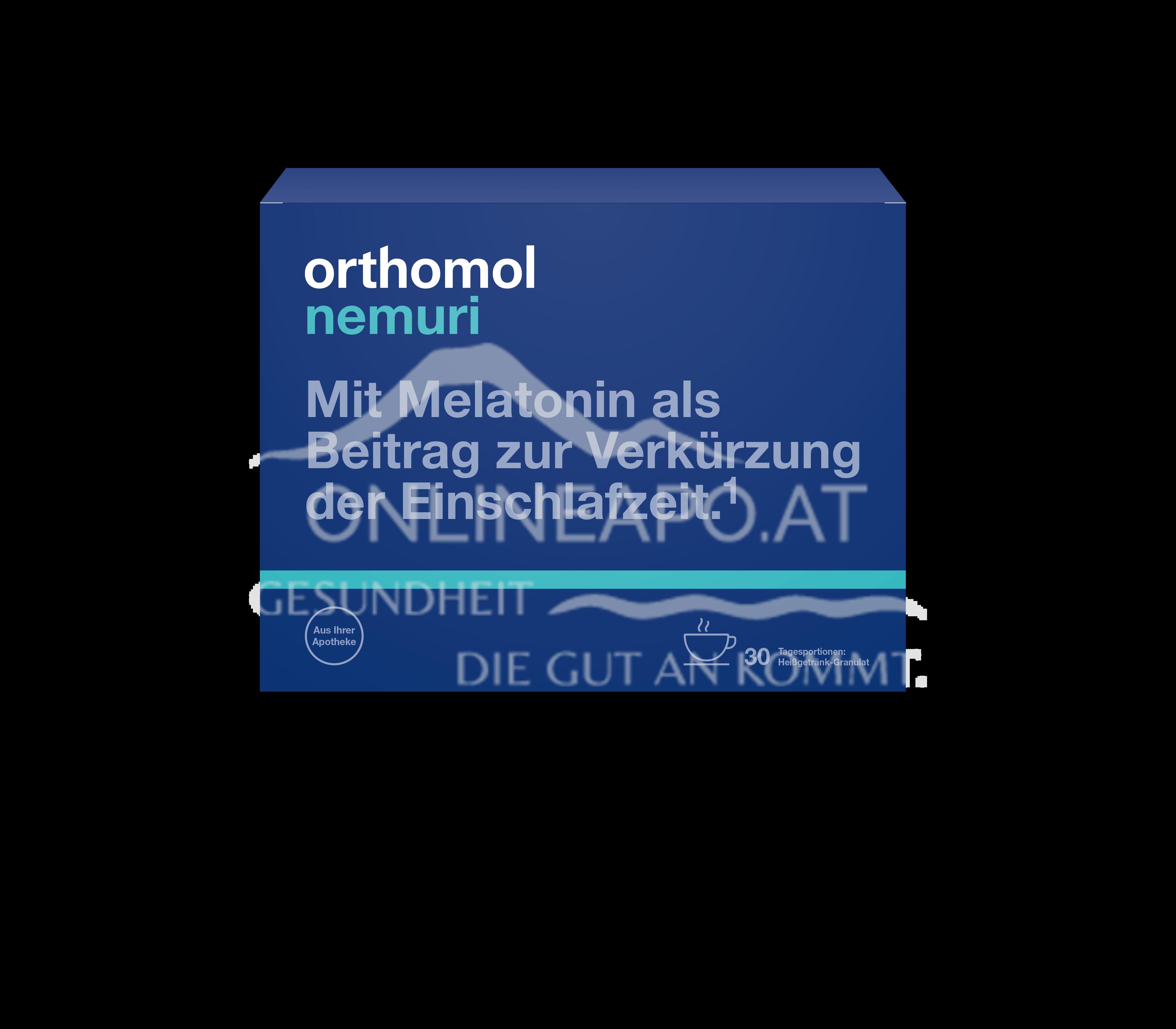 Orthomol Nemuri night Heißgetränk-Granulat