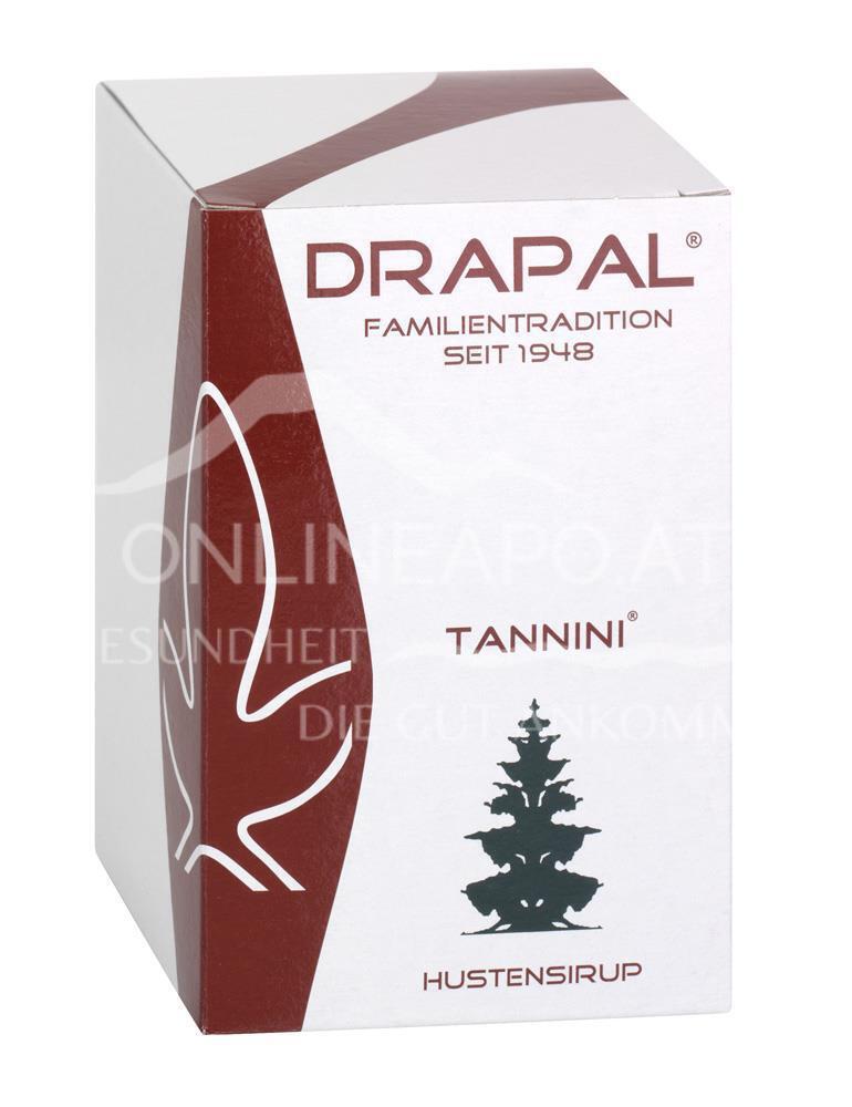 DRAPAL® Tannini Hustensirup Glas mit Faltschachtel