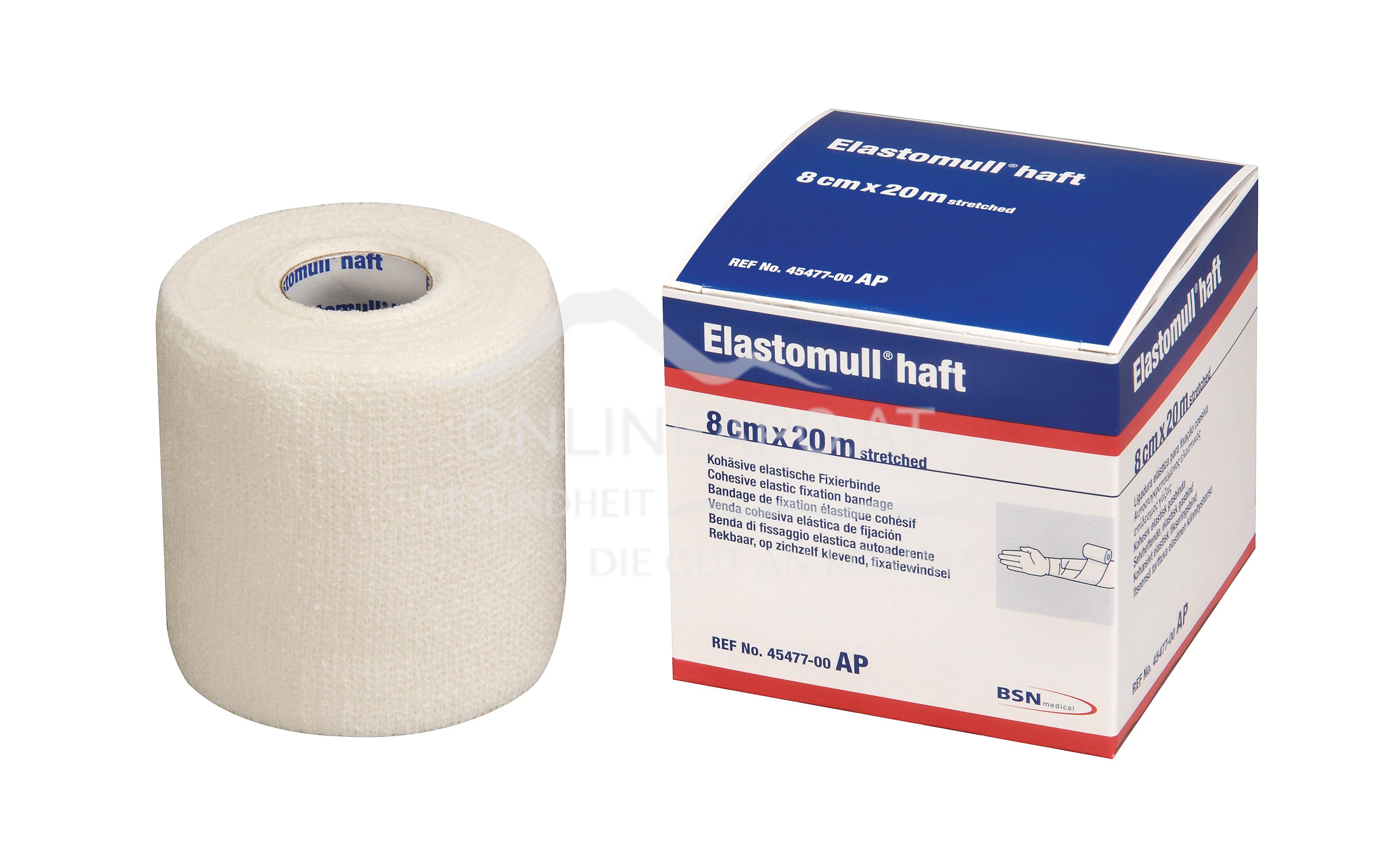 Elastomull® haft 8cm x 20m