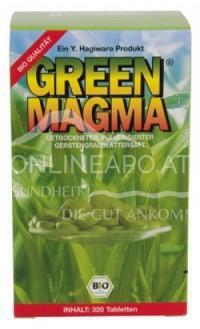 Allcura Green Magma GERSTENGRASEXTRAKT BIO 375MG TABLETTEN