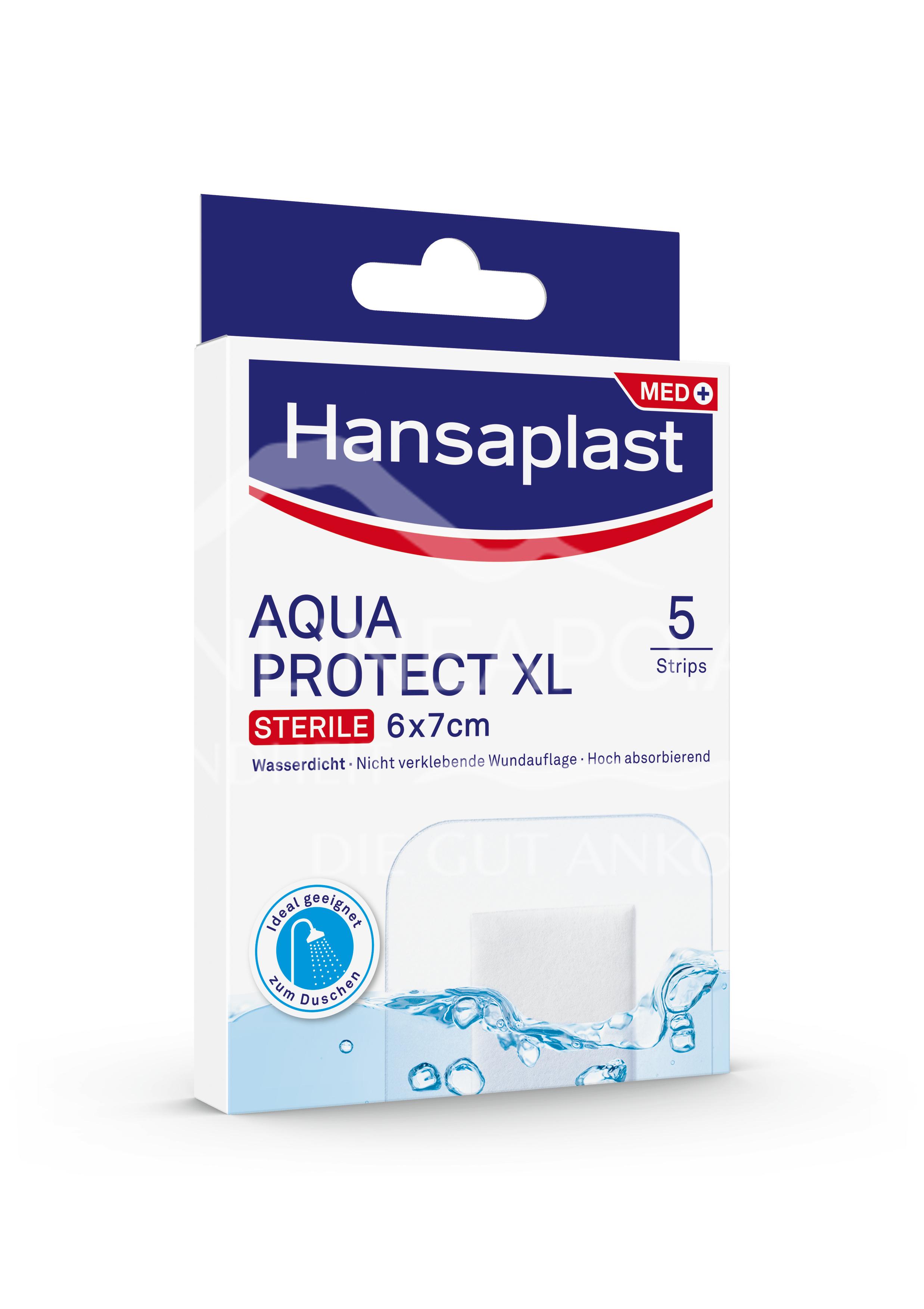 Hansaplast Antibakteriell Aqua Protect XL