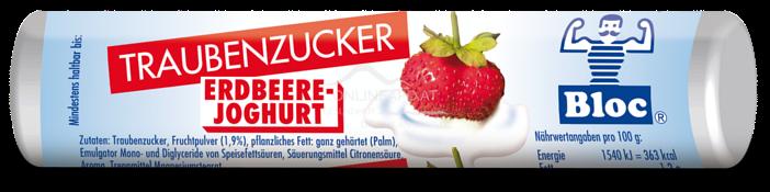 Bloc® Traubenzucker Rolle Erdbeer-Joghurt