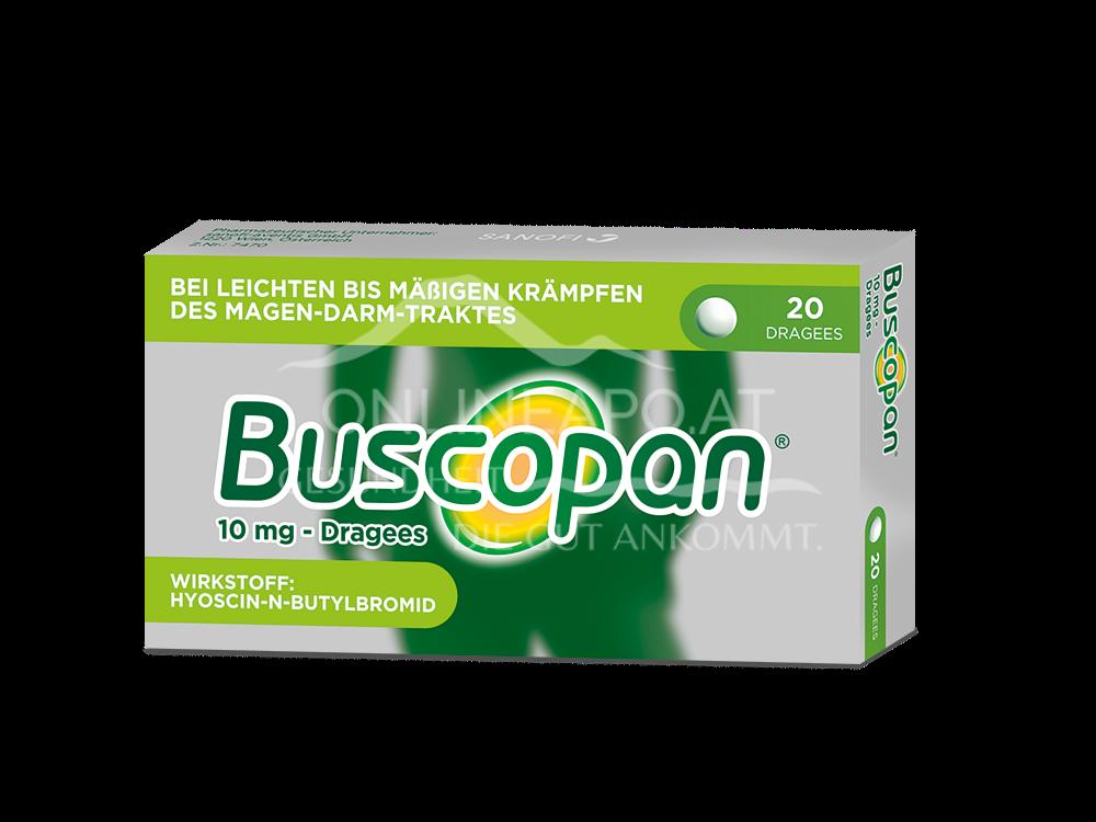 Buscopan®10mg– Dragees