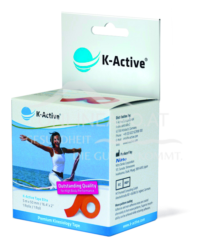K-Active® ELITE Tape Orange 5m X 5cm
