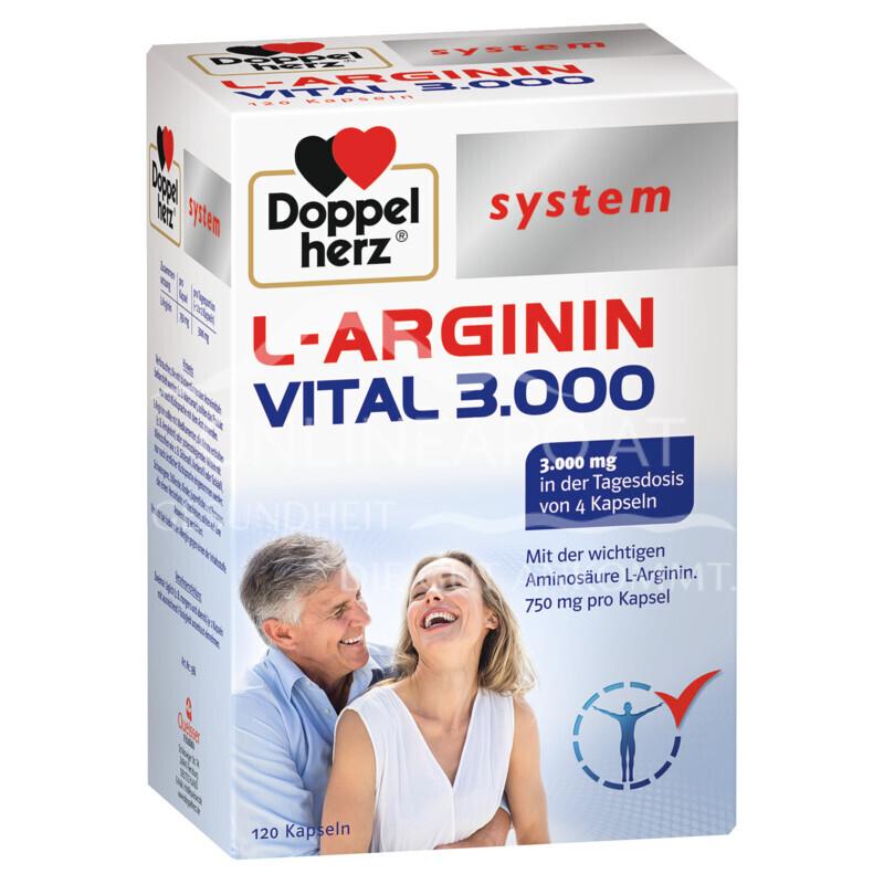 Doppelherz system L-ARGININ VITAL 3.000 Kapseln