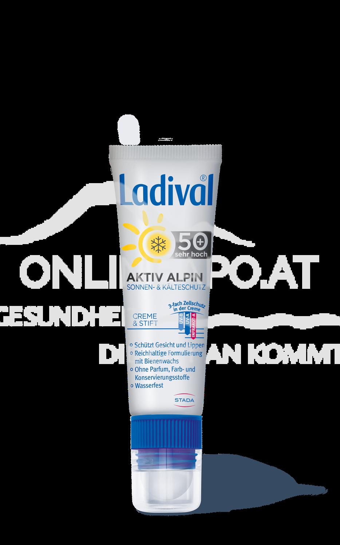 Ladival® 2-in-1 Aktiv Alpin Sonnen- & Kälteschutz