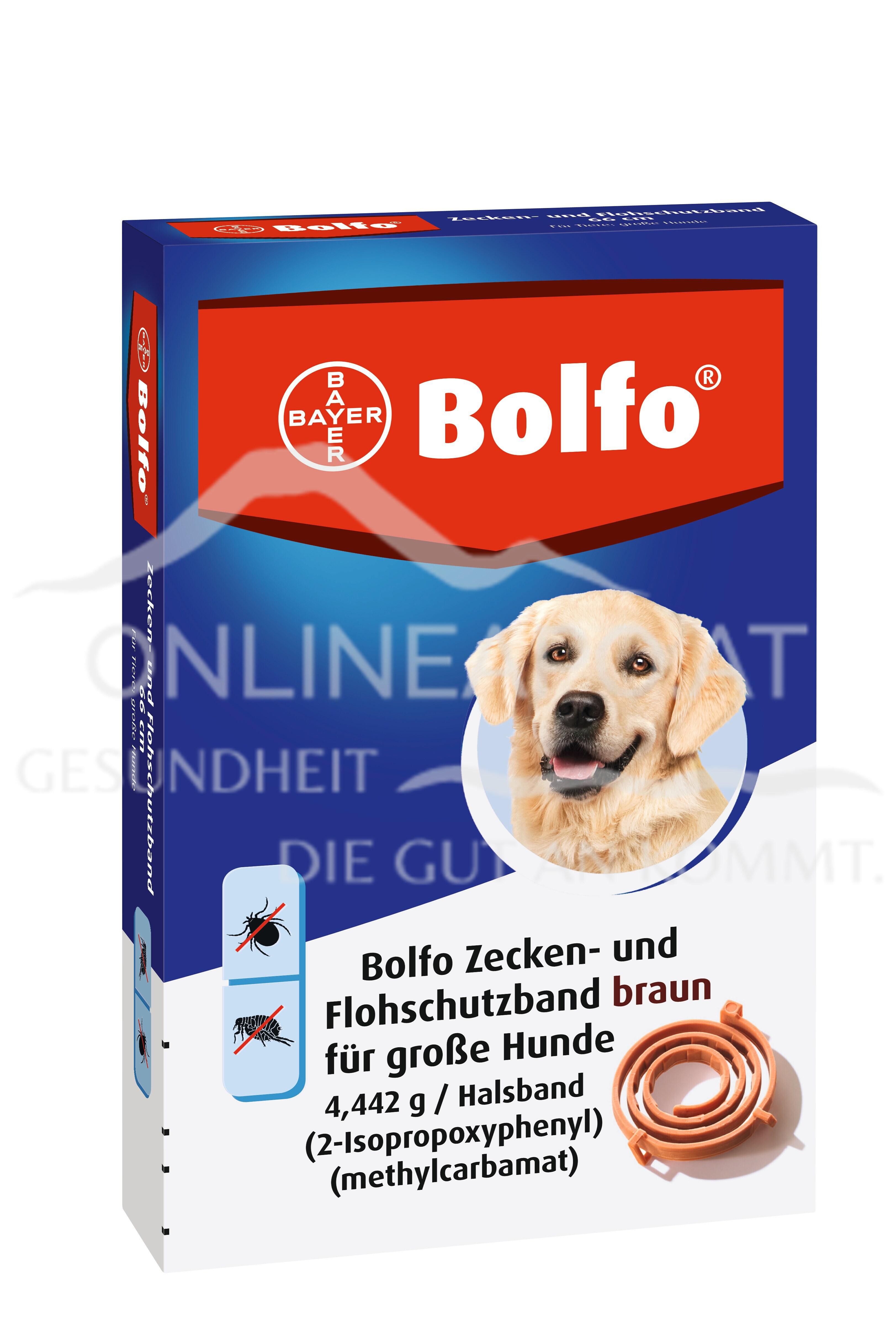 Bolfo® das Zecken- und Flohschutzband für große Hunde