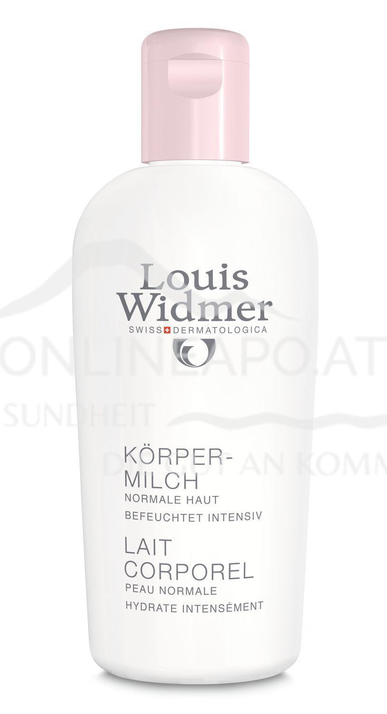 Louis Widmer Körpermilch