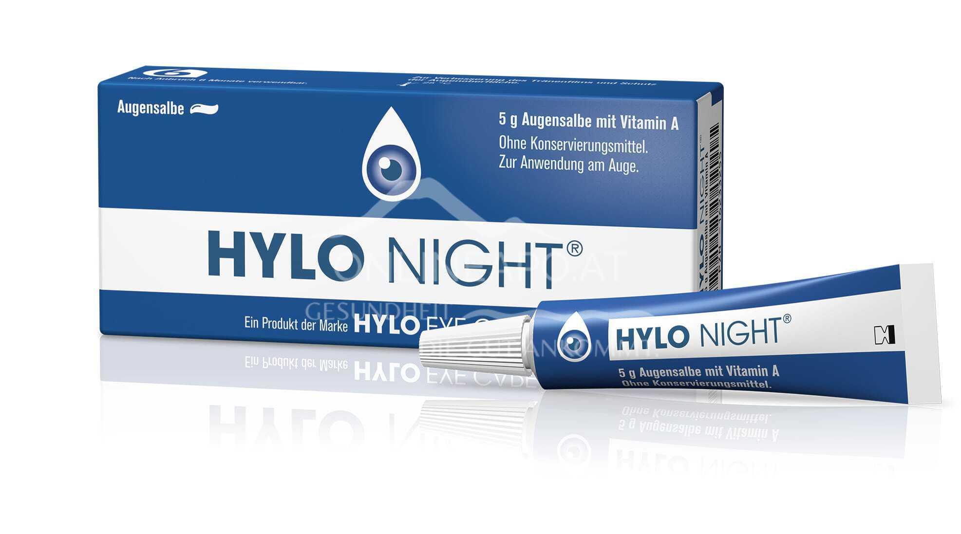 HYLO NIGHT® Augensalbe