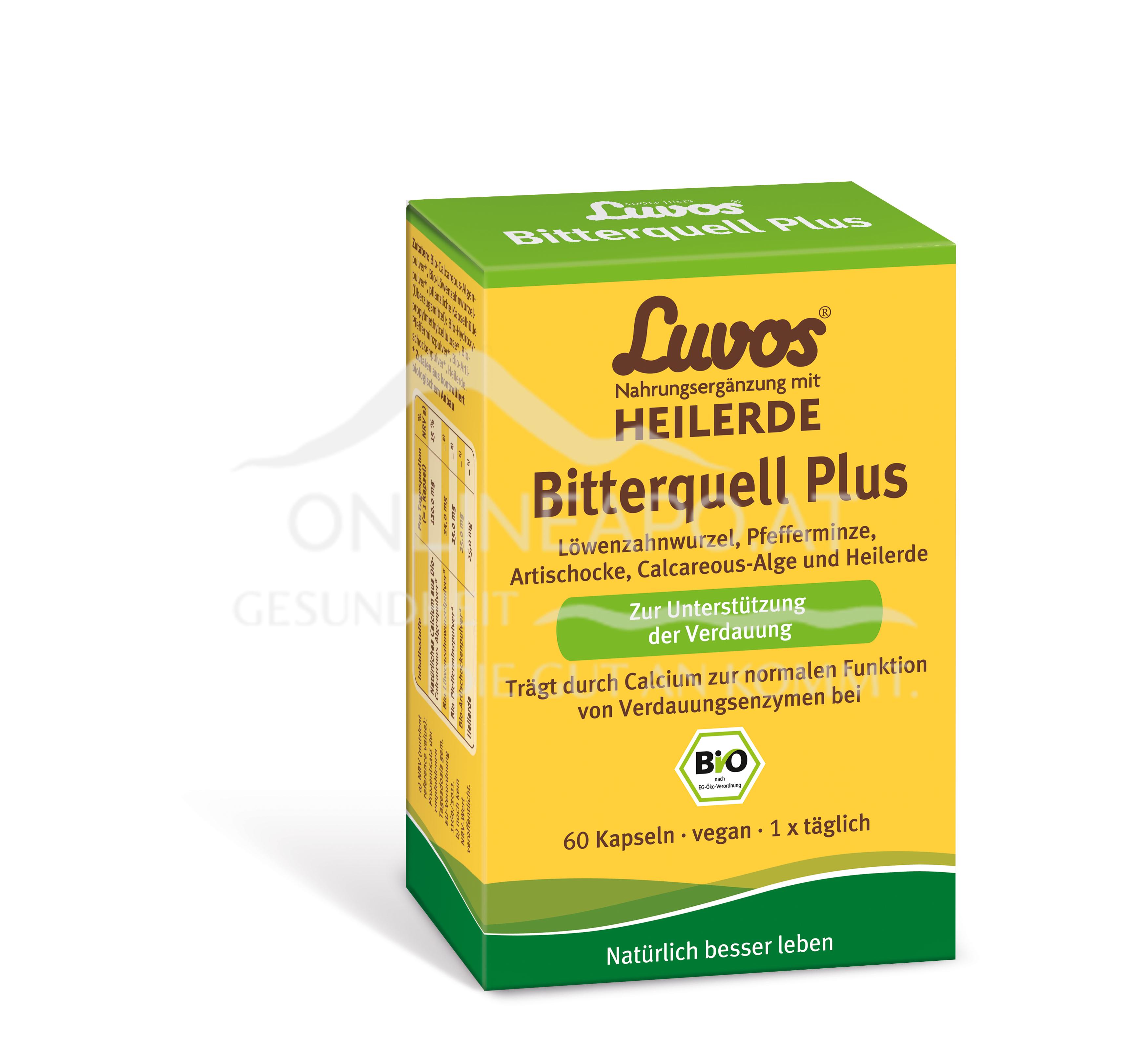 LUVOS Kapseln Bitterquell Plus