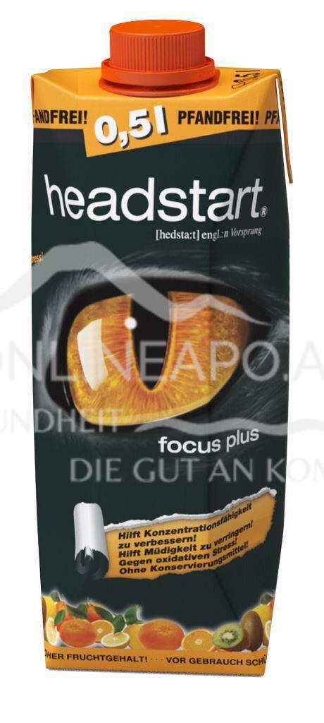 headstart focus plus Tetra Pak Citrus/Kiwi