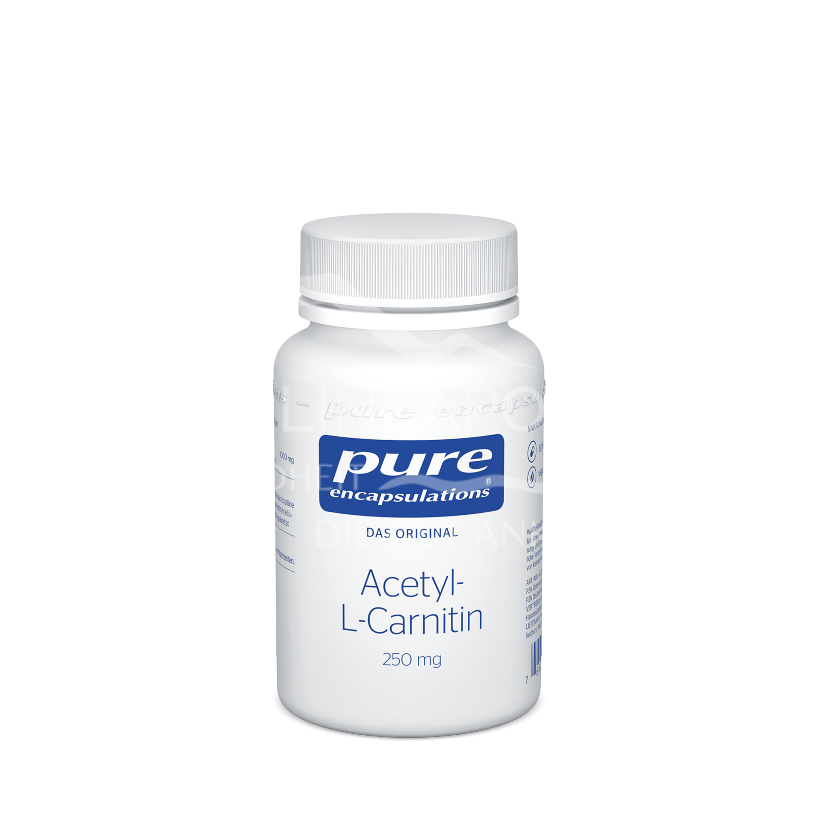 pure encapsulations® Acetyl-L-Carnitin 250 mg