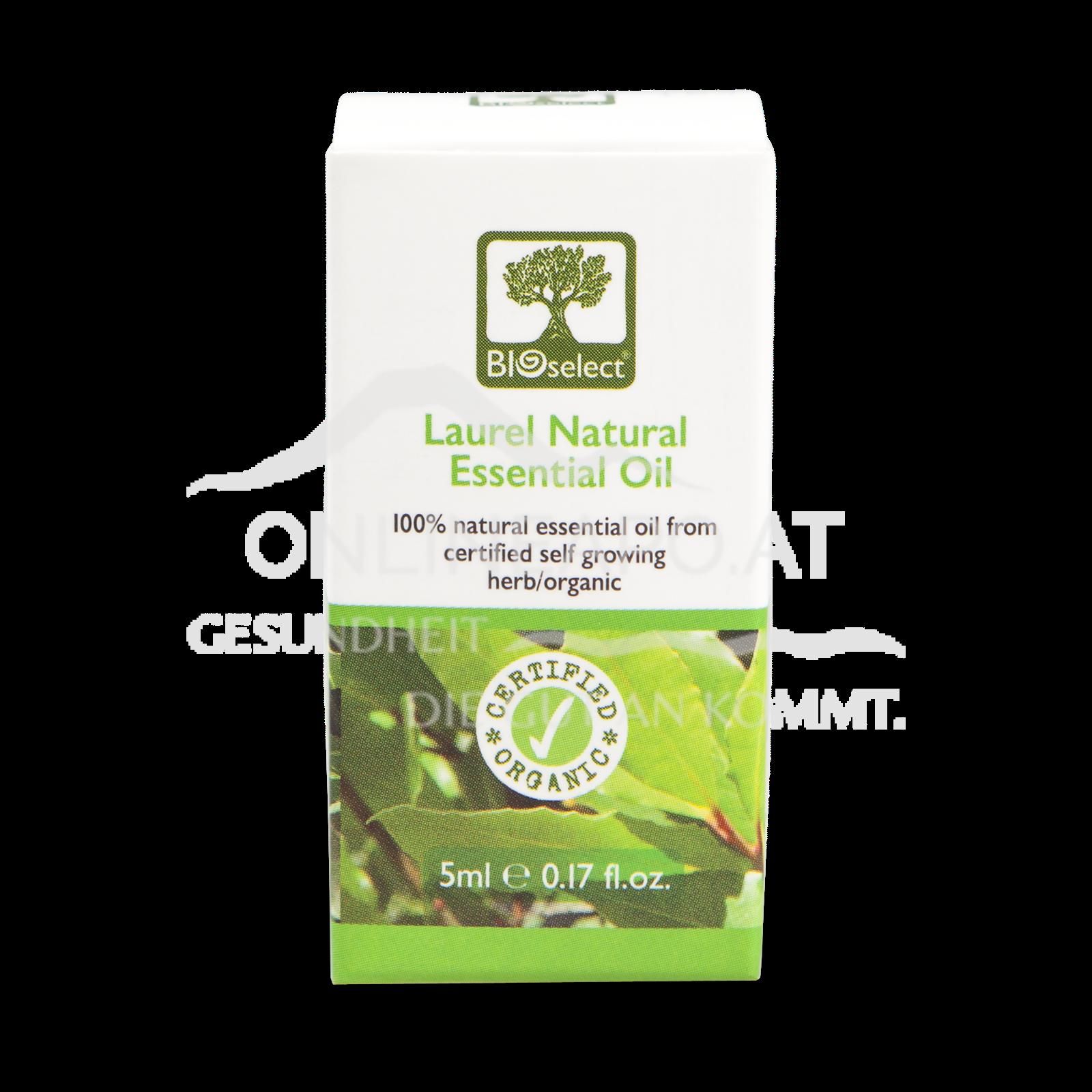 Bioselect Laurel Natural Essential Oil Certified Organic