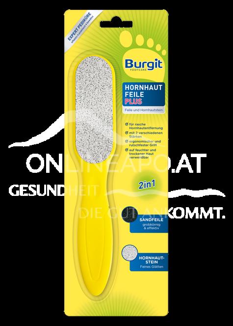 Burgit Footcare Hornhaut Feile Plus