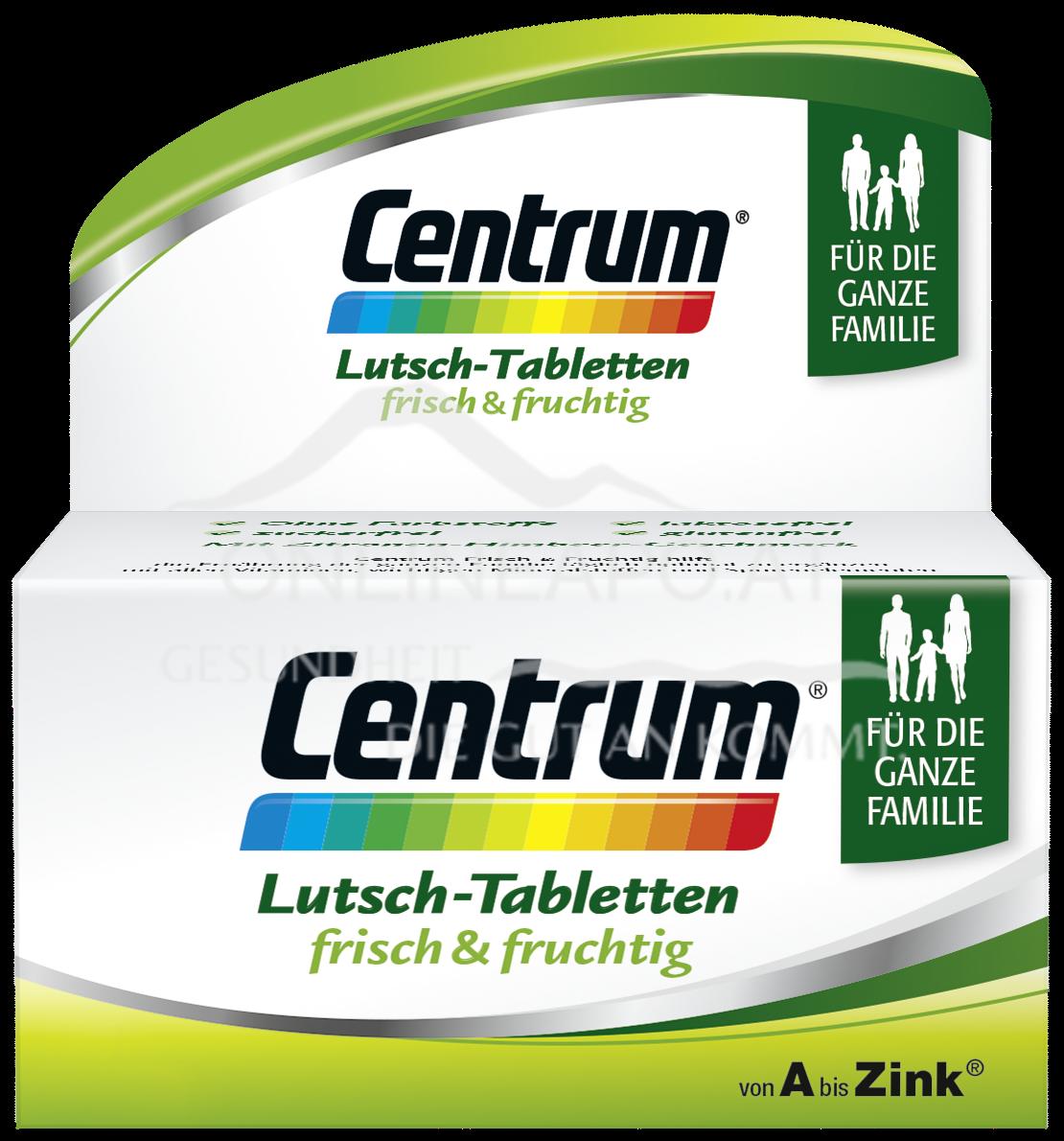 Centrum® Frisch und Fruchtig Lutschtabletten