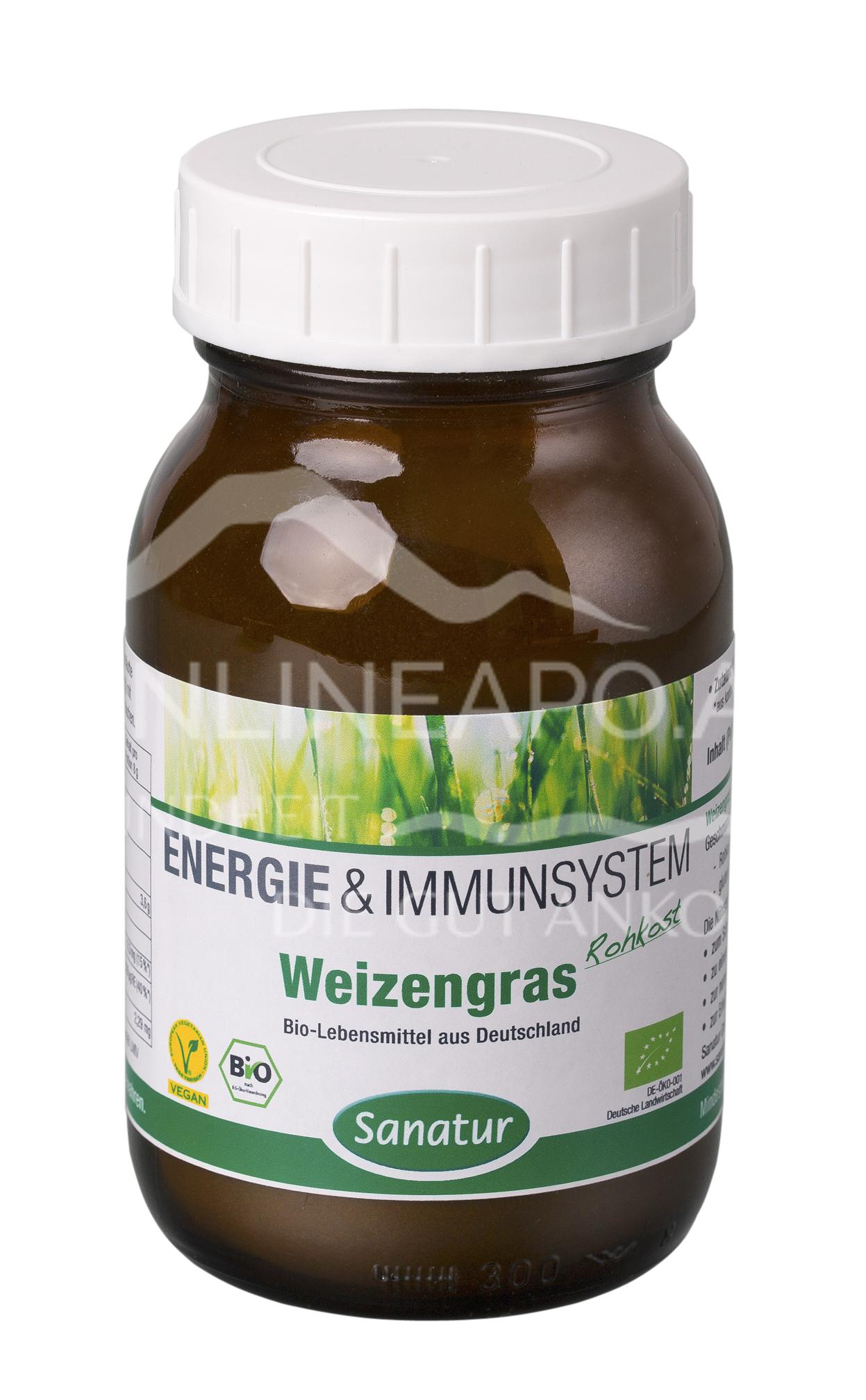 Sanatur Weizen-Gras Pulver BIO